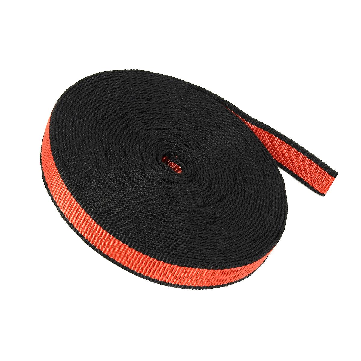 Fita Tubular 25mm 22kN Vermelha (Rolo 25 Metros) - Exclusividade ALPIMONTE