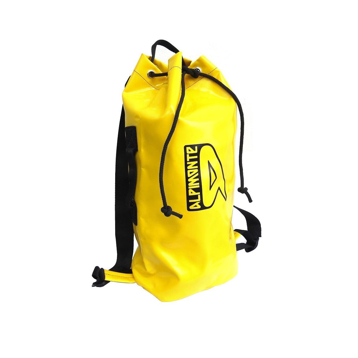 Mochila Saco de Espeleologia Carso Mini 16 Litros Amarela (Exclusividade Alpimonte)