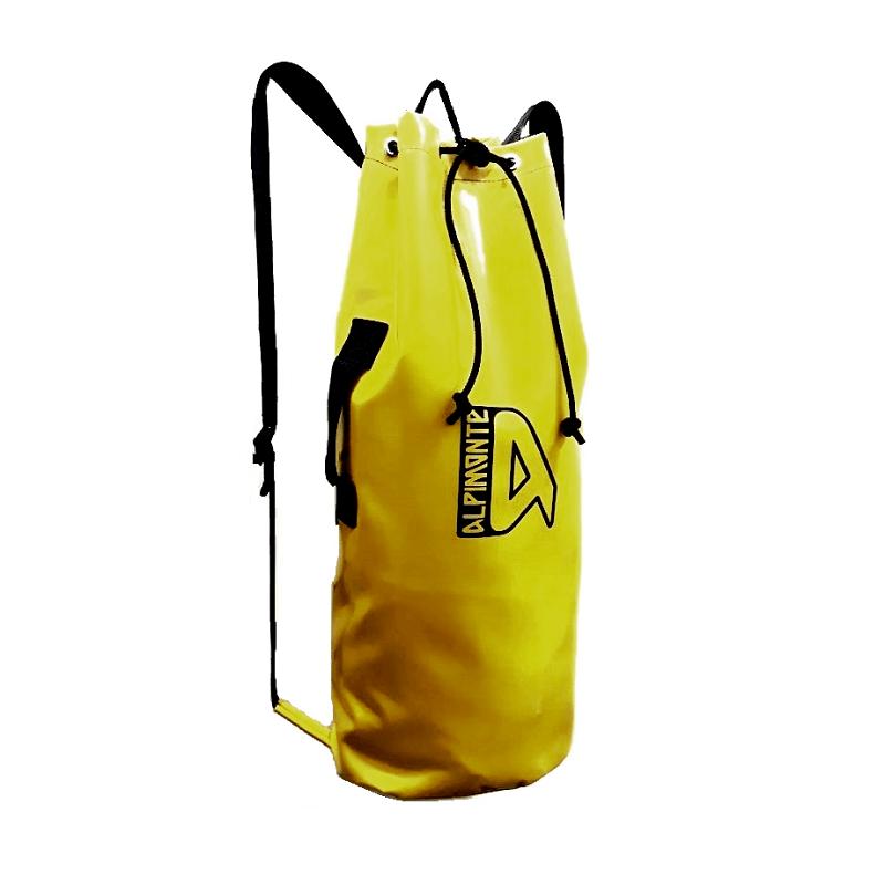 Mochila Saco de Espeleologia CARSO Alpimonte 25 Litros Amarela (produto exclusivo)