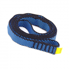 Anel de Fita 120cm 19mm 24kN EN566 Azul e Preto
