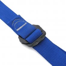 Cinto para Calça com Fivela de Ajuste Rápido 140cm Azul