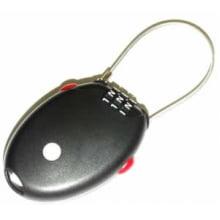 Cadeado com segredo programável e cabo retratil CABLELOCK