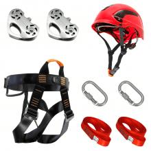 Kit ALP012VM Duplo Tirolesa e Parque De Aventura Alpimonte®